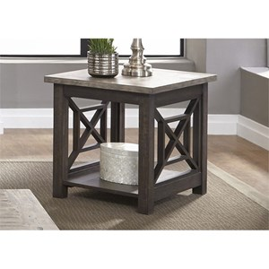Liberty Furniture Heatherbrook Occasional End Table