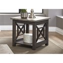 Liberty Furniture Heatherbrook Occasional End Table - Item Number: 422-OT1020