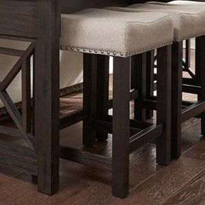 Liberty Furniture Heatherbrook Occasional Uph Barstool