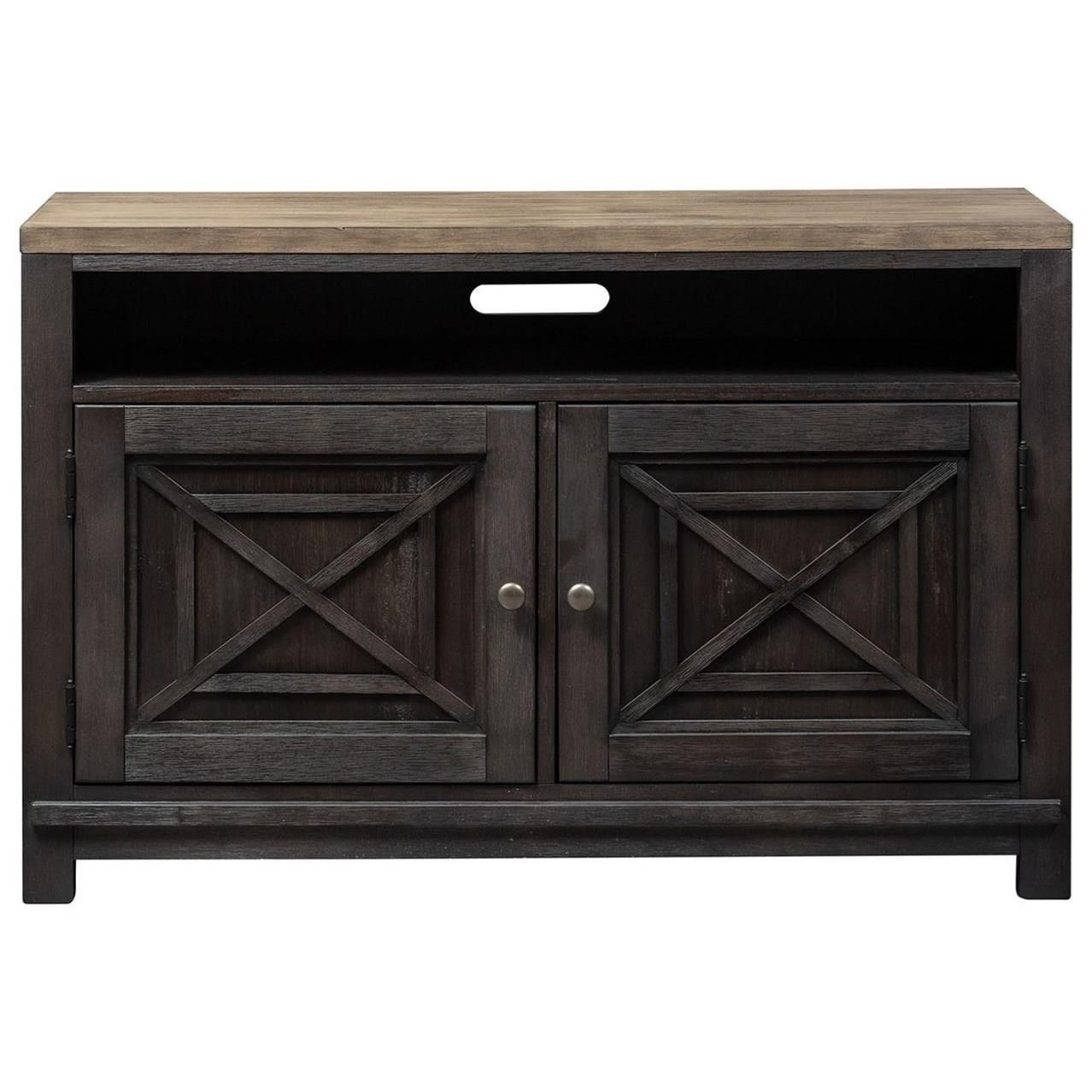 Heatherbrook 46 Inch TV Console by Libby at Walker's Furniture