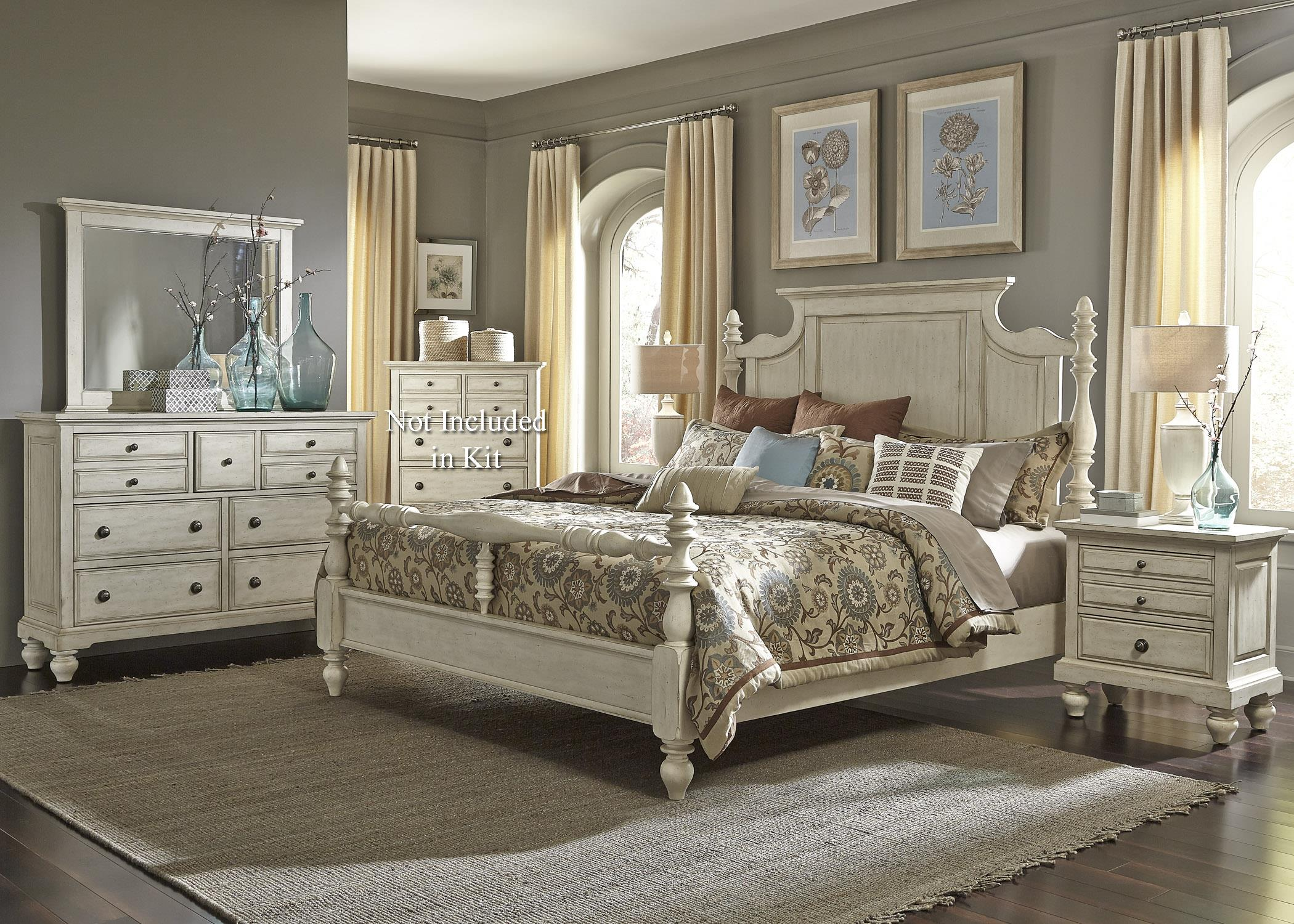 Liberty Furniture 697-BR King Bedroom Group - Item Number: 697-BR-KPSDMN