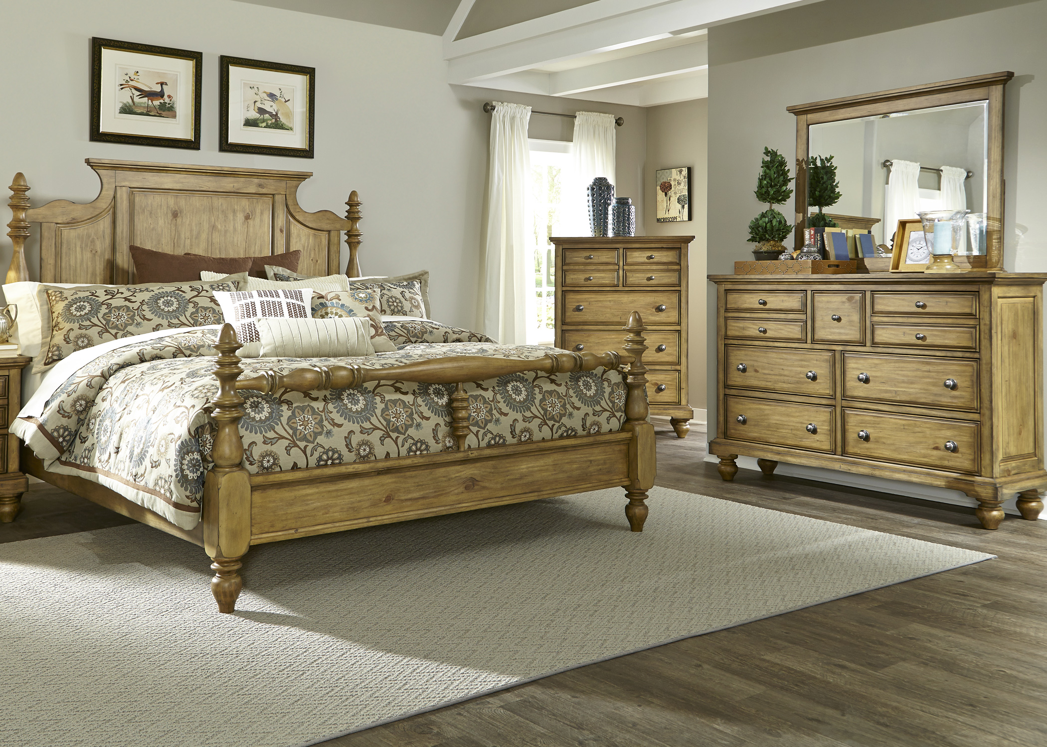 Liberty Furniture High Country King Bedroom Group - Item Number: 797-BR-KPSDMC