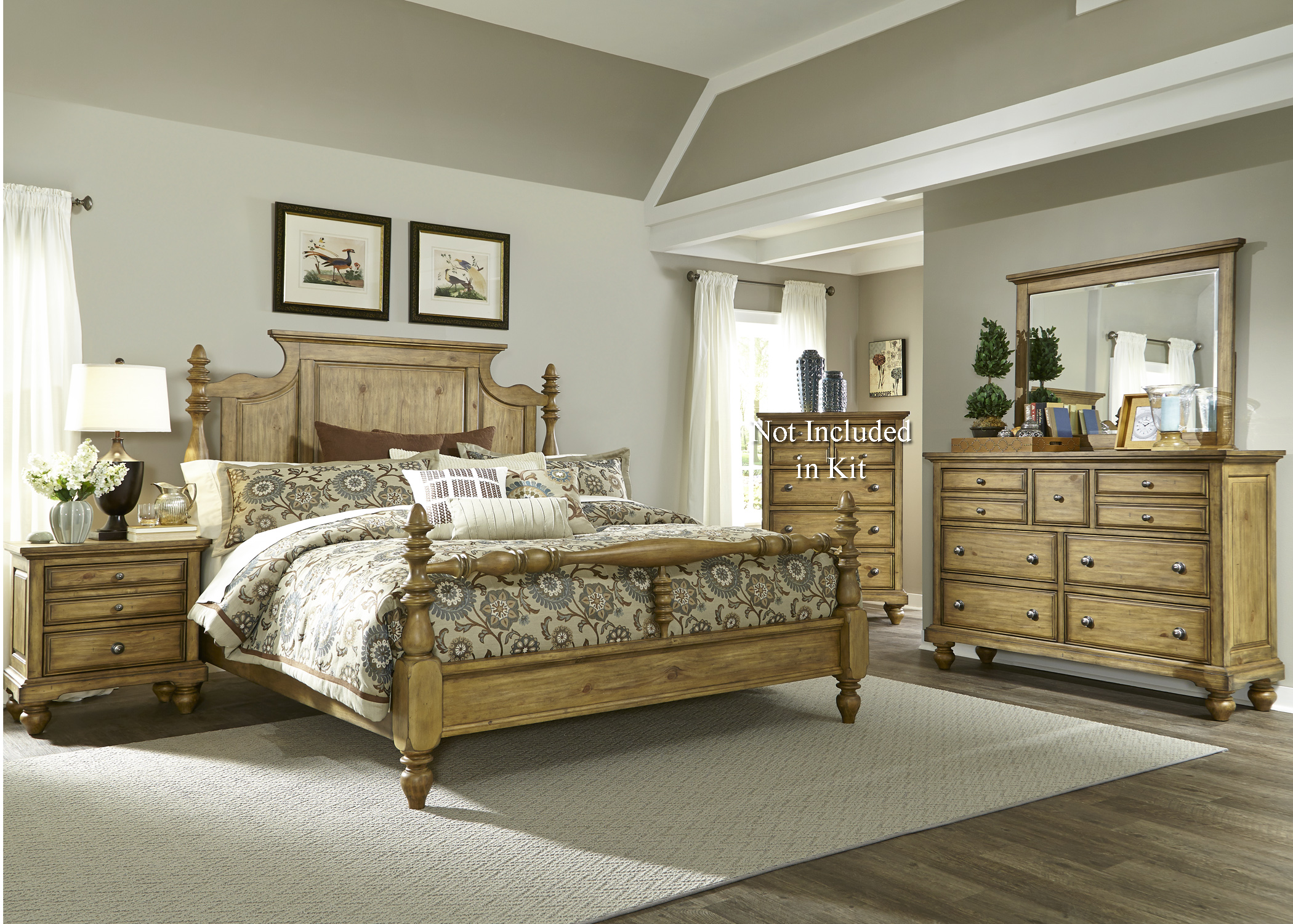 Liberty Furniture High Country King Bedroom Group - Item Number: 797-BR-KPSDMN