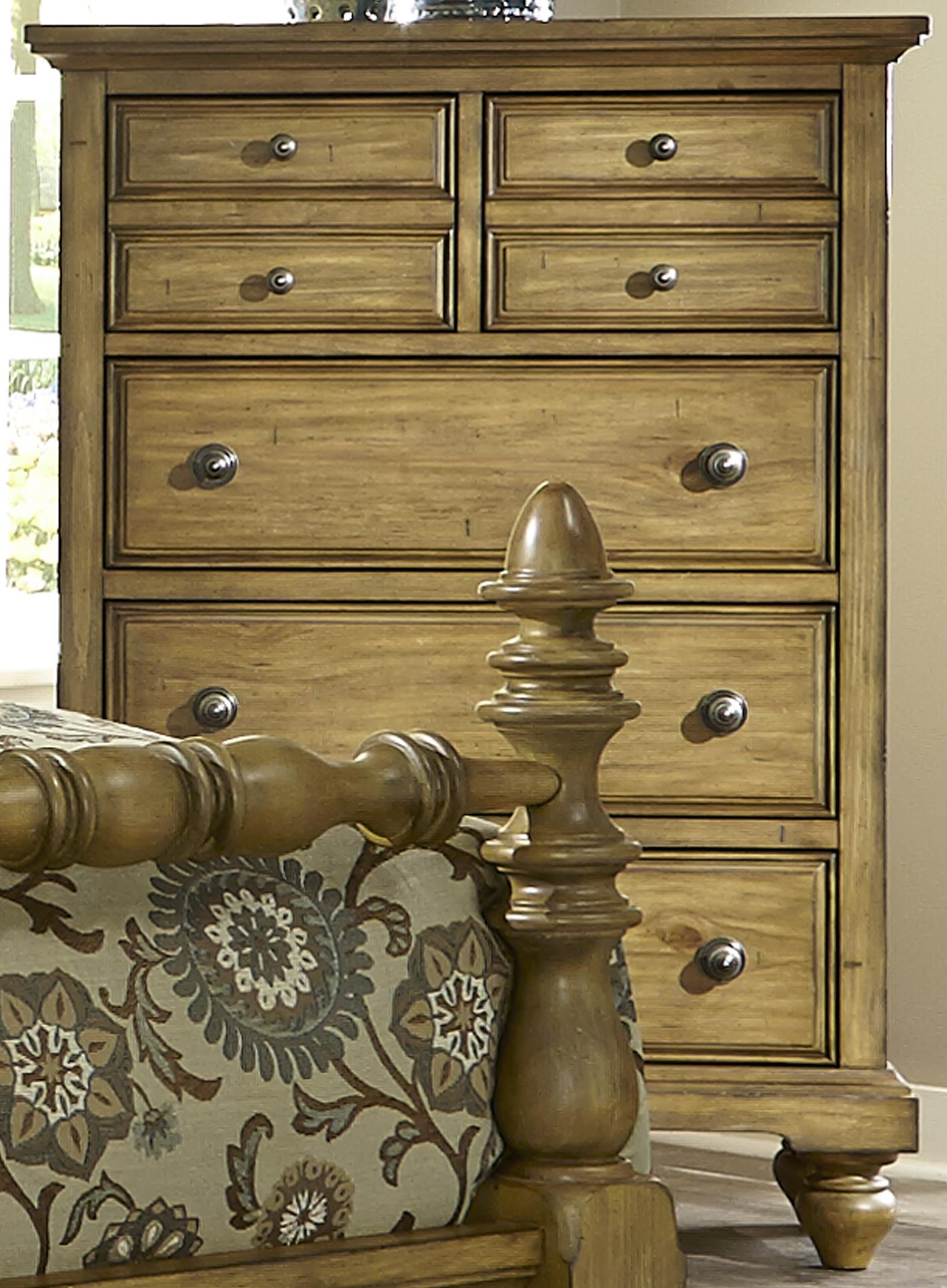 Liberty Furniture High Country 5 Drawer Chest  - Item Number: 797-BR41