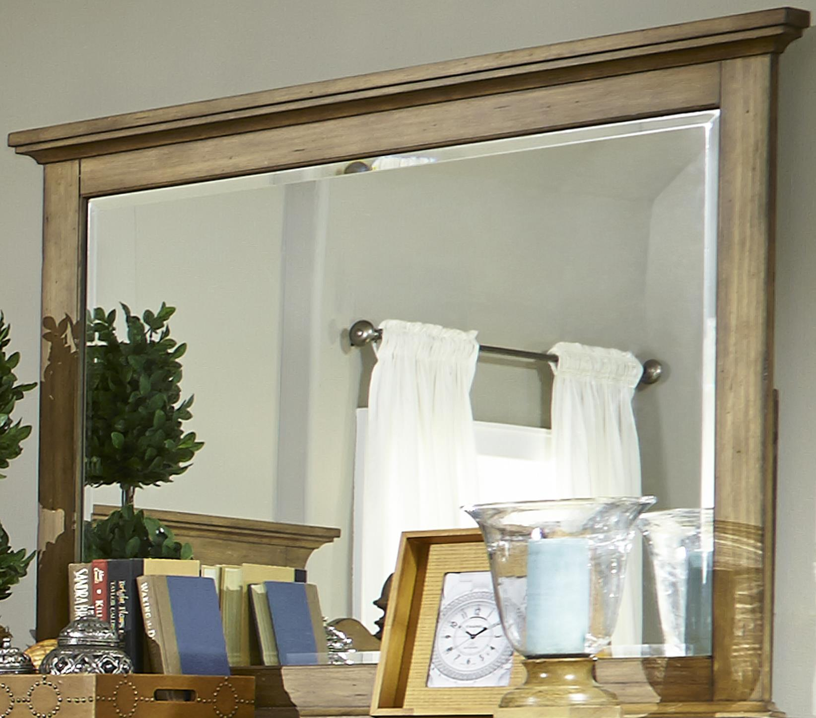 Liberty Furniture High Country Landscape Mirror - Item Number: 797-BR51