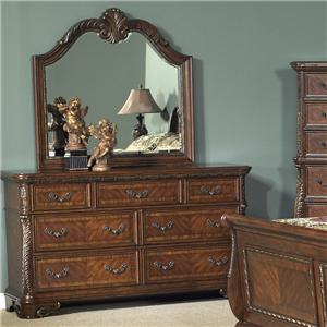Liberty Furniture Highland Court Dresser and Mirror