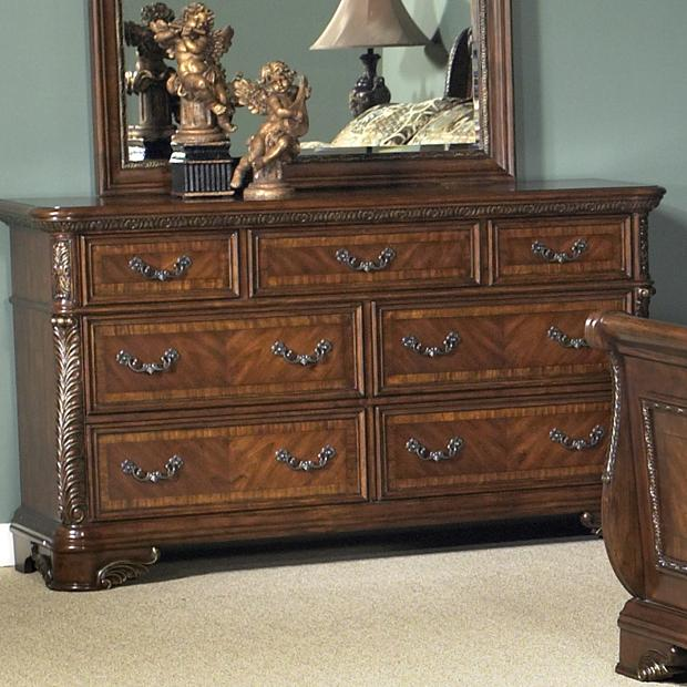 Sarah Randolph-J Highland Court 7 Drawer Dresser - Item Number: 620-BR31