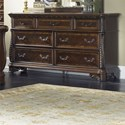 Liberty Furniture Highland Court Traditional 7 Drawer Dresser