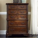 Liberty Furniture Highland Court 5 Drawer Chest - Item Number: 620-BR41