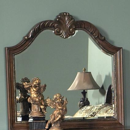 Liberty Furniture Highland Court Dresser Mirror - Item Number: 620-BR51