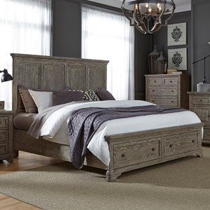 Liberty Furniture Highlands King Storage Bed
