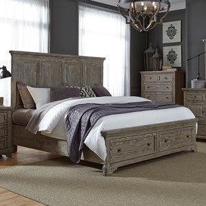 Liberty Furniture Highlands Queen Storage Bed