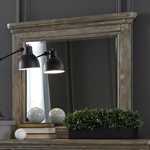 Liberty Furniture Highlands Mirror with Wood Frame