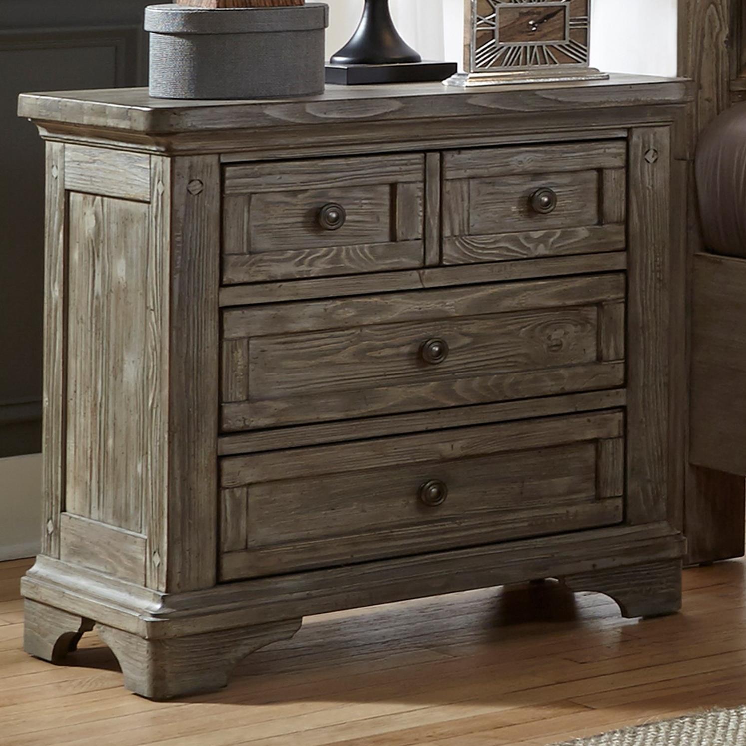 Liberty Furniture Highlands Nightstand   Item Number: 727 BR61