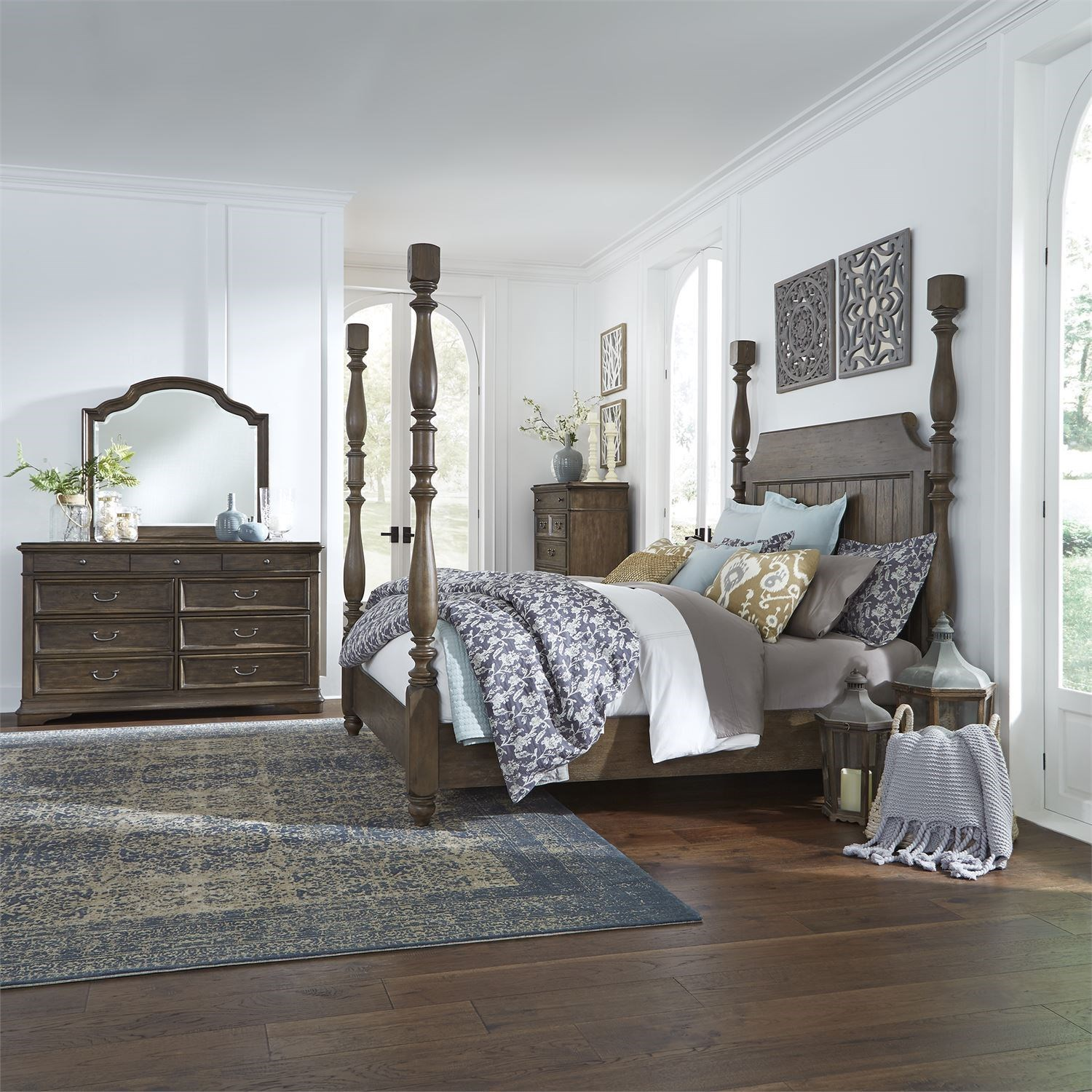 Homestead King Bedroom Group by Libby at Walker's Furniture