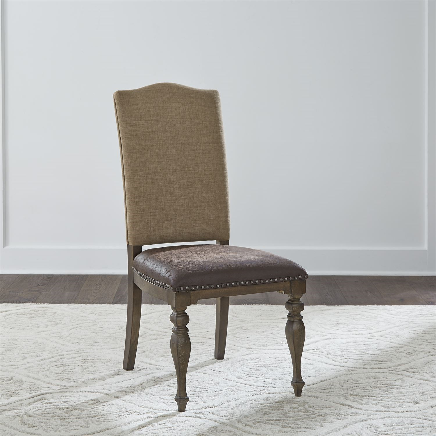 Homestead Upholstered Side Chair by Libby at Walker's Furniture