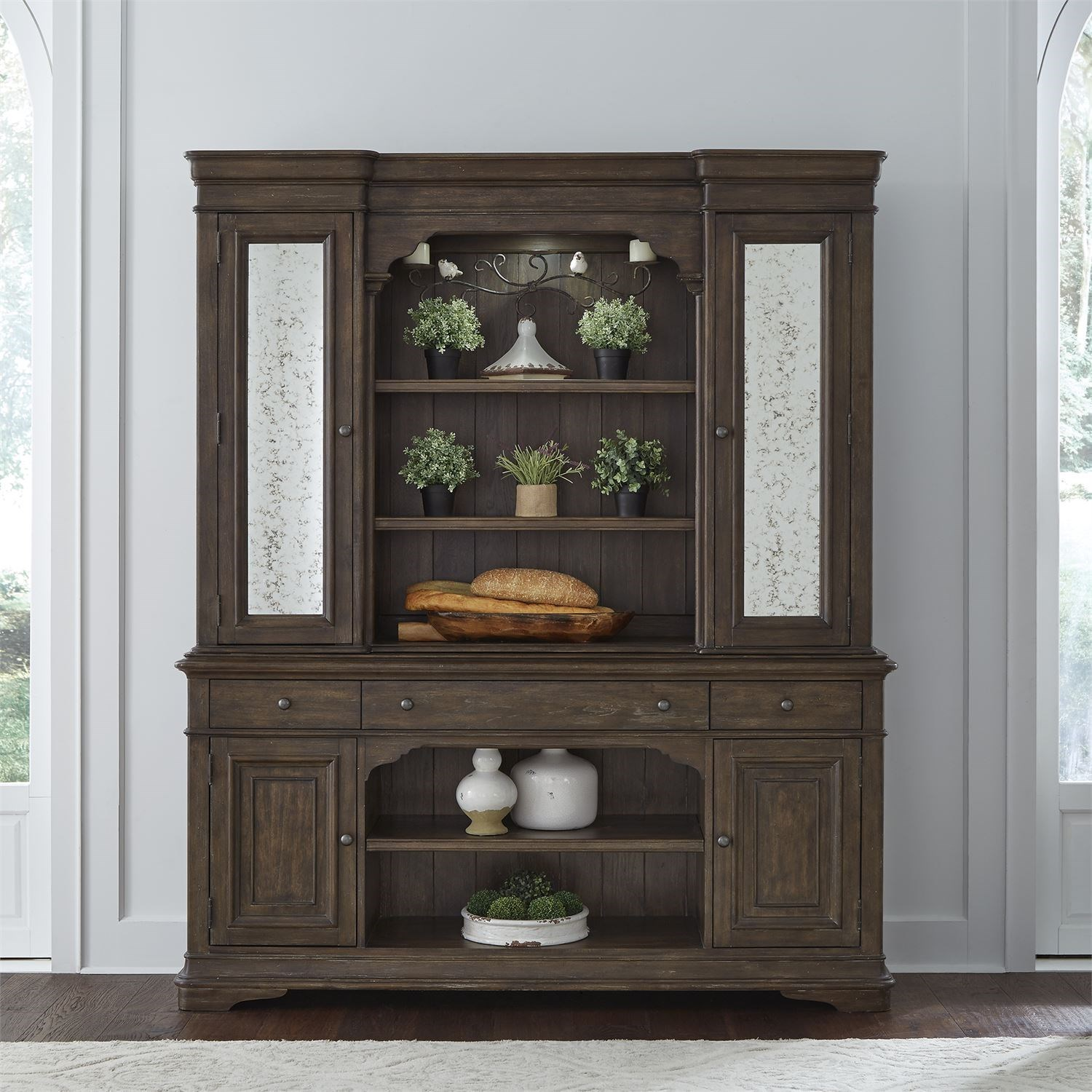 Homestead Hutch and Buffet by Liberty Furniture at Northeast Factory Direct