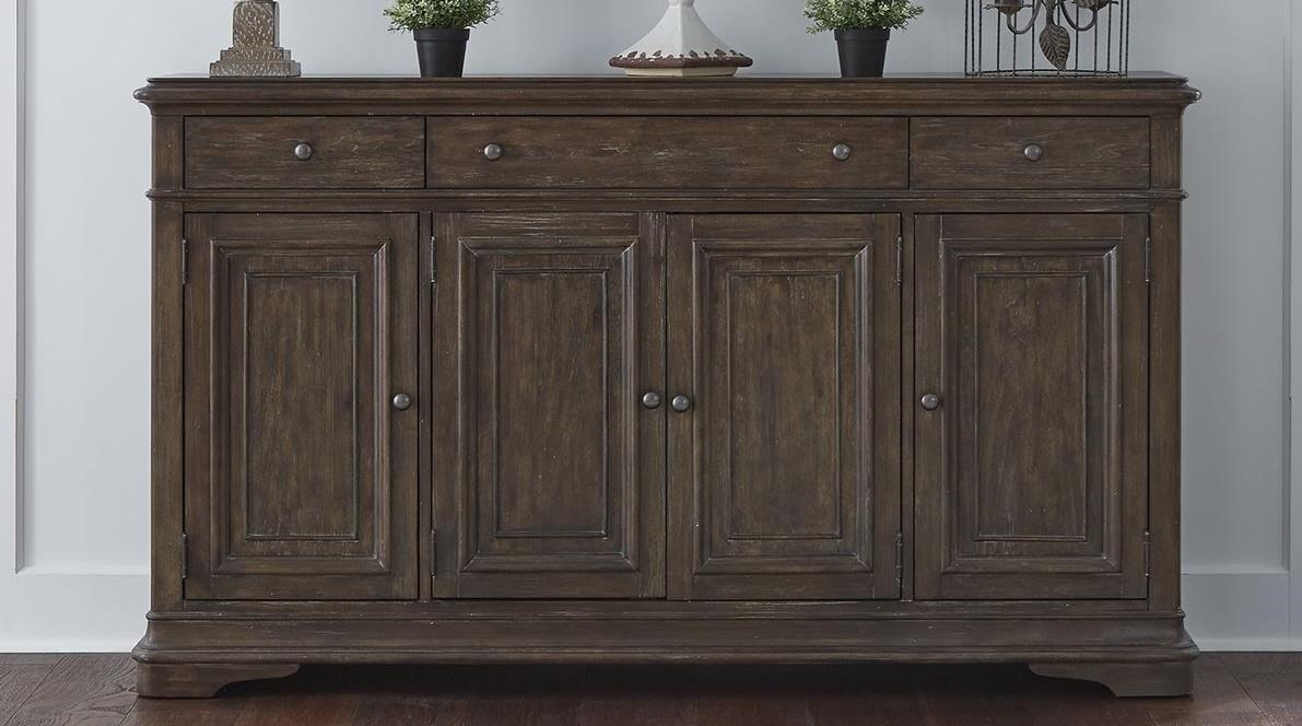 Homestead Hall Buffet by Liberty Furniture at Northeast Factory Direct