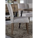 Liberty Furniture Horizons Upholstered Dining Side Chair - Item Number: 42-C6501S