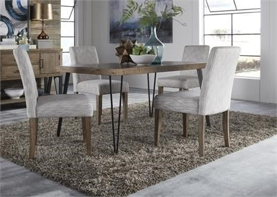 Liberty Furniture Horizons Dining Table and Chair Set - Item Number: 42-T3560+4xC6501S