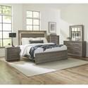 Liberty Furniture Horizons King Bedroom Group - Item Number: 272-BR-KPBDMCN