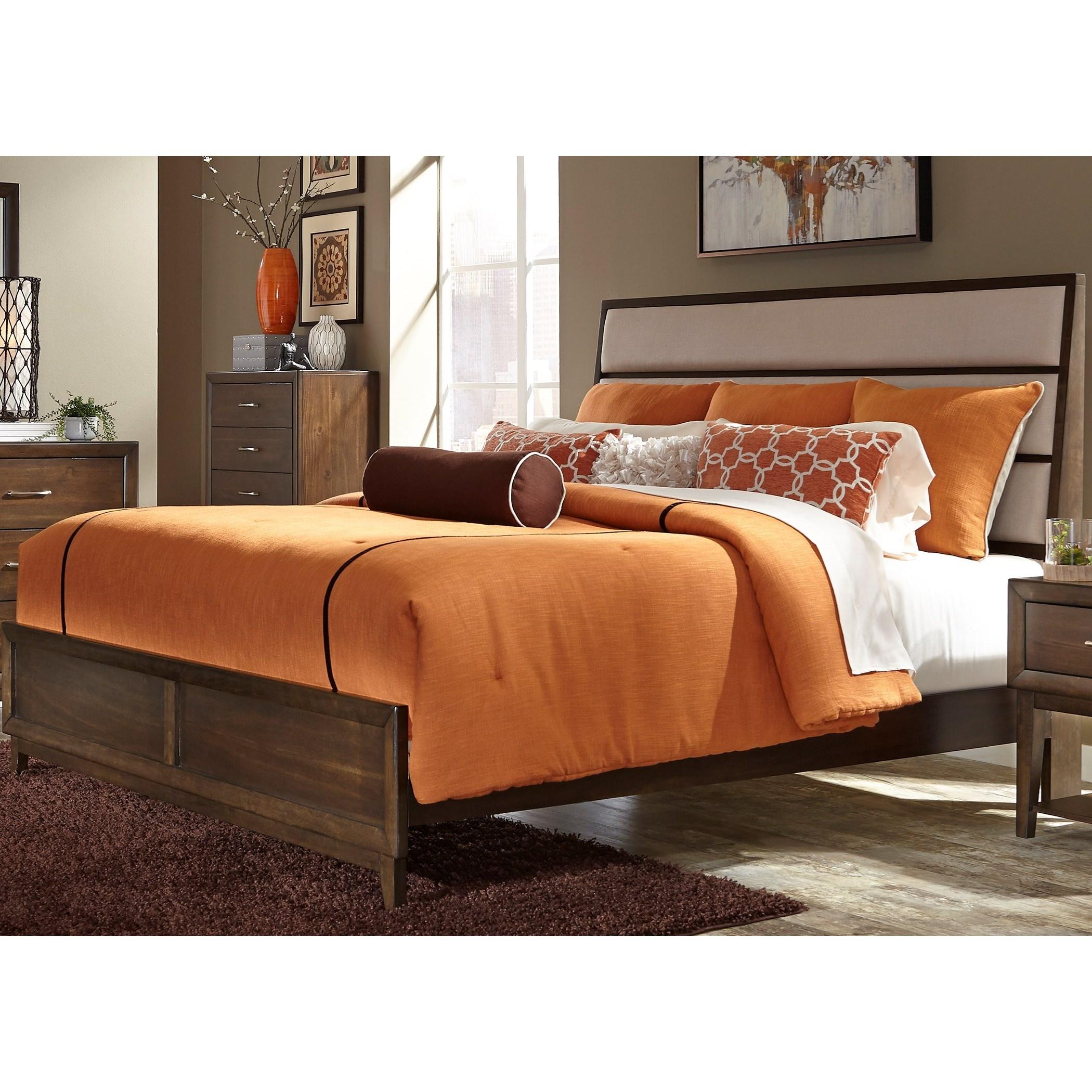 Liberty Furniture Hudson Square Bedroom King Panel Bed  - Item Number: 365-BR-KPB