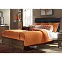 Vendor 5349 Hudson Square Bedroom King Low Profile Bed  - Item Number: 365-BR-KUB