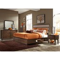 Liberty Furniture Hudson Square Bedroom Queen Bedroom Group - Item Number: 365-BR-Q2SDMCN