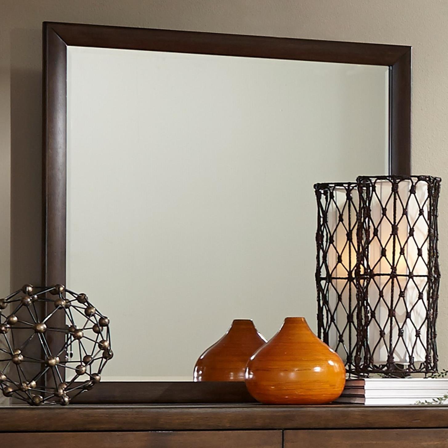 Liberty Furniture Hudson Square Bedroom Mirror - Item Number: 365-BR51