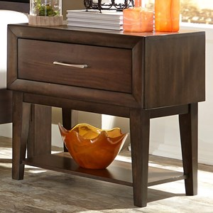 Vendor 5349 Hudson Square Bedroom 1 Drawer Night Stand