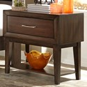 Vendor 5349 Hudson Square Bedroom 1 Drawer Night Stand - Item Number: 365-BR61