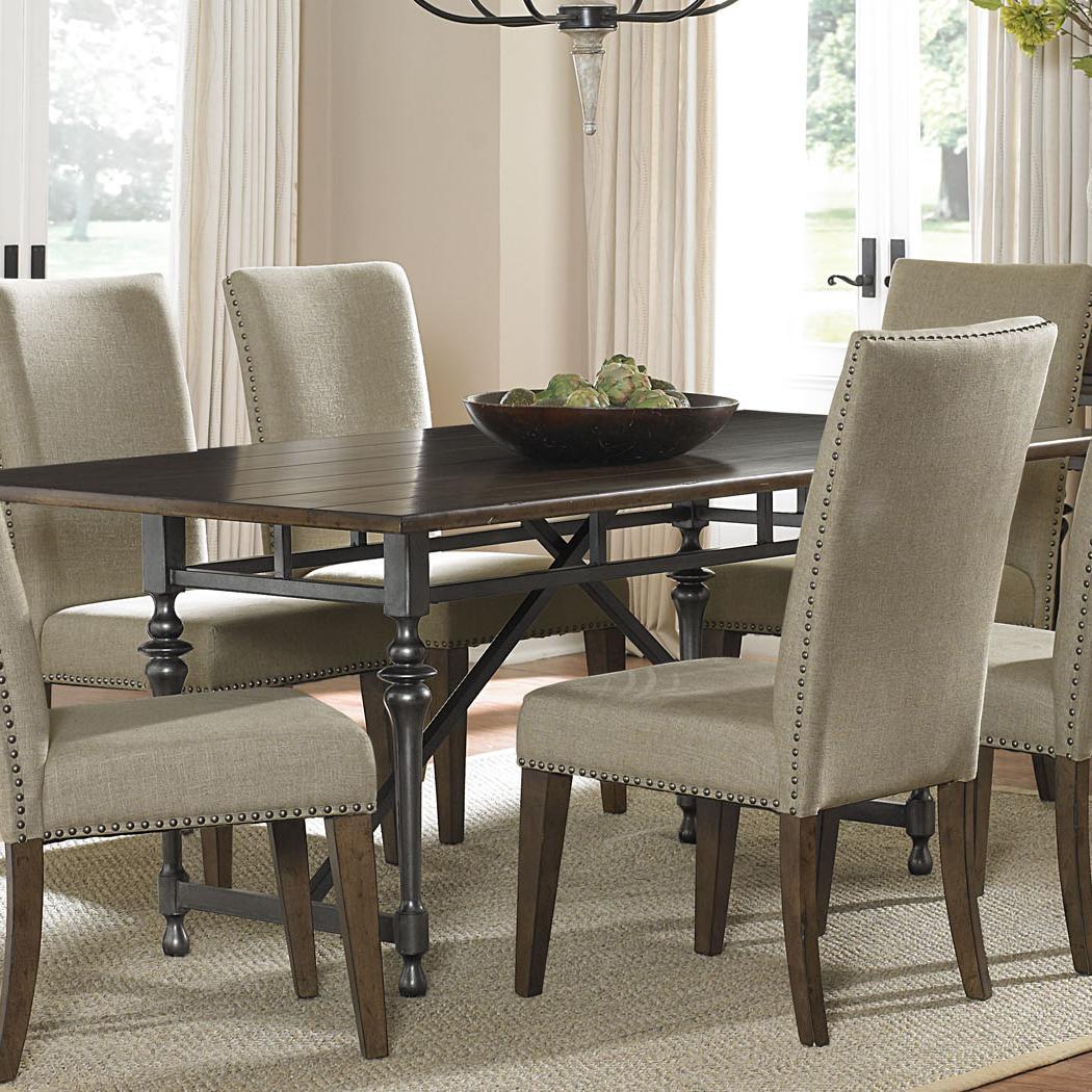 Liberty Furniture Ivy Park Leg Table - Item Number: 563-P4276+T4276