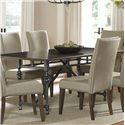 Vendor 5349 Ivy Park Leg Table - Item Number: 563-P4276+T4276