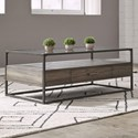 Liberty Furniture Jamestown Rectangular Cocktail Table - Item Number: 626-OT1011