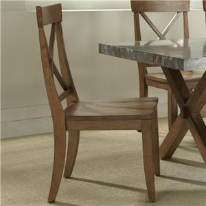 Vendor 5349 Keaton X-Back Side Chair