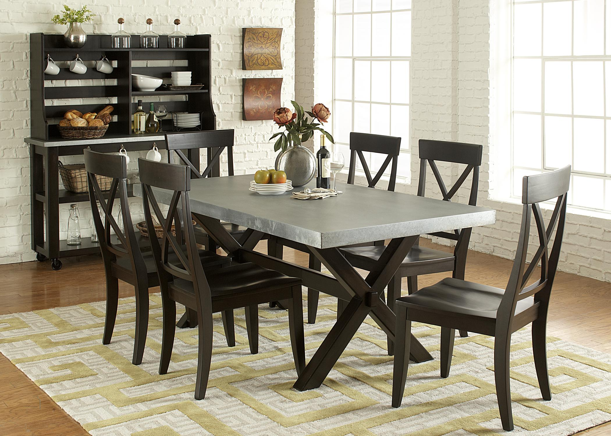 Liberty Furniture Keaton II Dining Room Group 1 - Item Number: 219 Dining Room Group 1