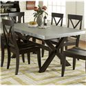 Liberty Furniture Keaton II Rectangle Trestle Table - Item Number: 219-T3876