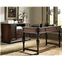 Liberty Furniture Kingston Plantation Complete Desk - Item Number: 720-HO-SET41