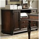 Liberty Furniture Kingston Plantation Complete Desk with Writing Desk and Credenza