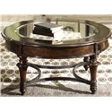 Liberty Furniture Kingston Plantation Round Cocktail Table - Item Number: 720-OT1011