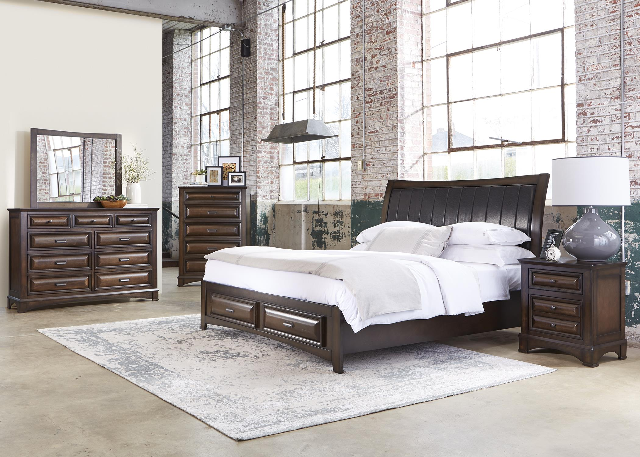 Liberty Furniture Knollwood Queen Bedroom Group - Item Number: 258 Q Bedroom Group 1