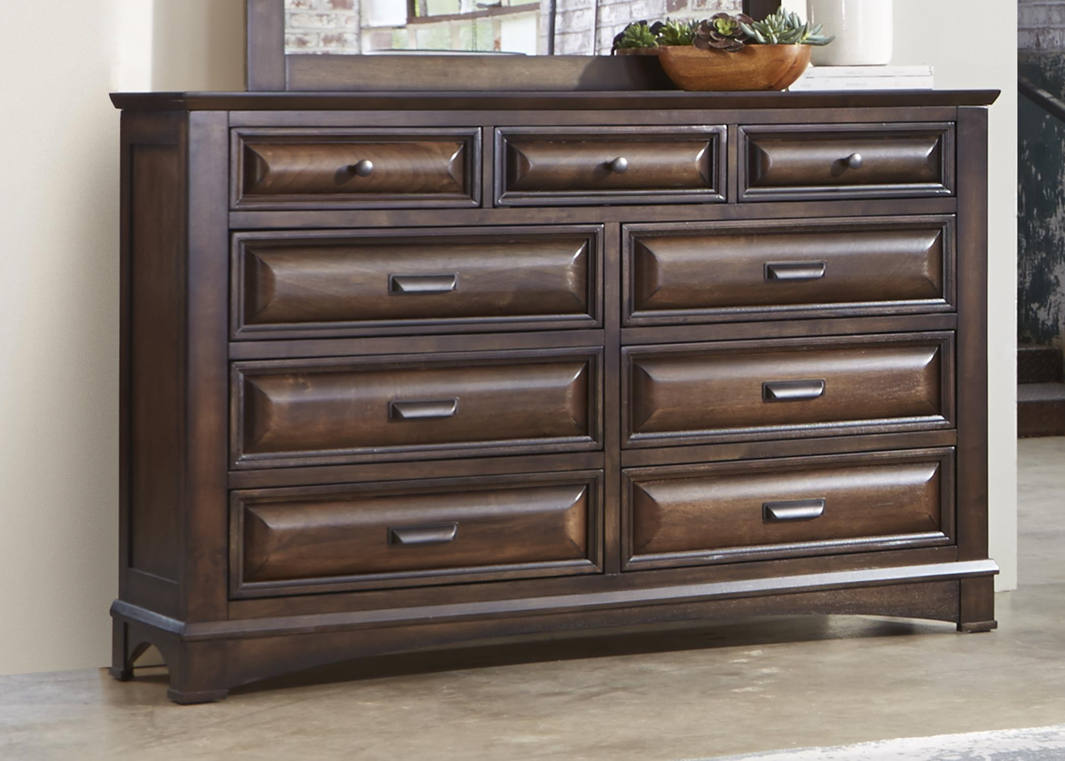 Liberty Furniture Knollwood 9 Drawer Dresser - Item Number: 258-BR31