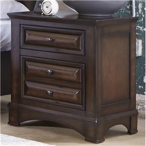 Liberty Furniture Knollwood 2 Drawer Nightstand