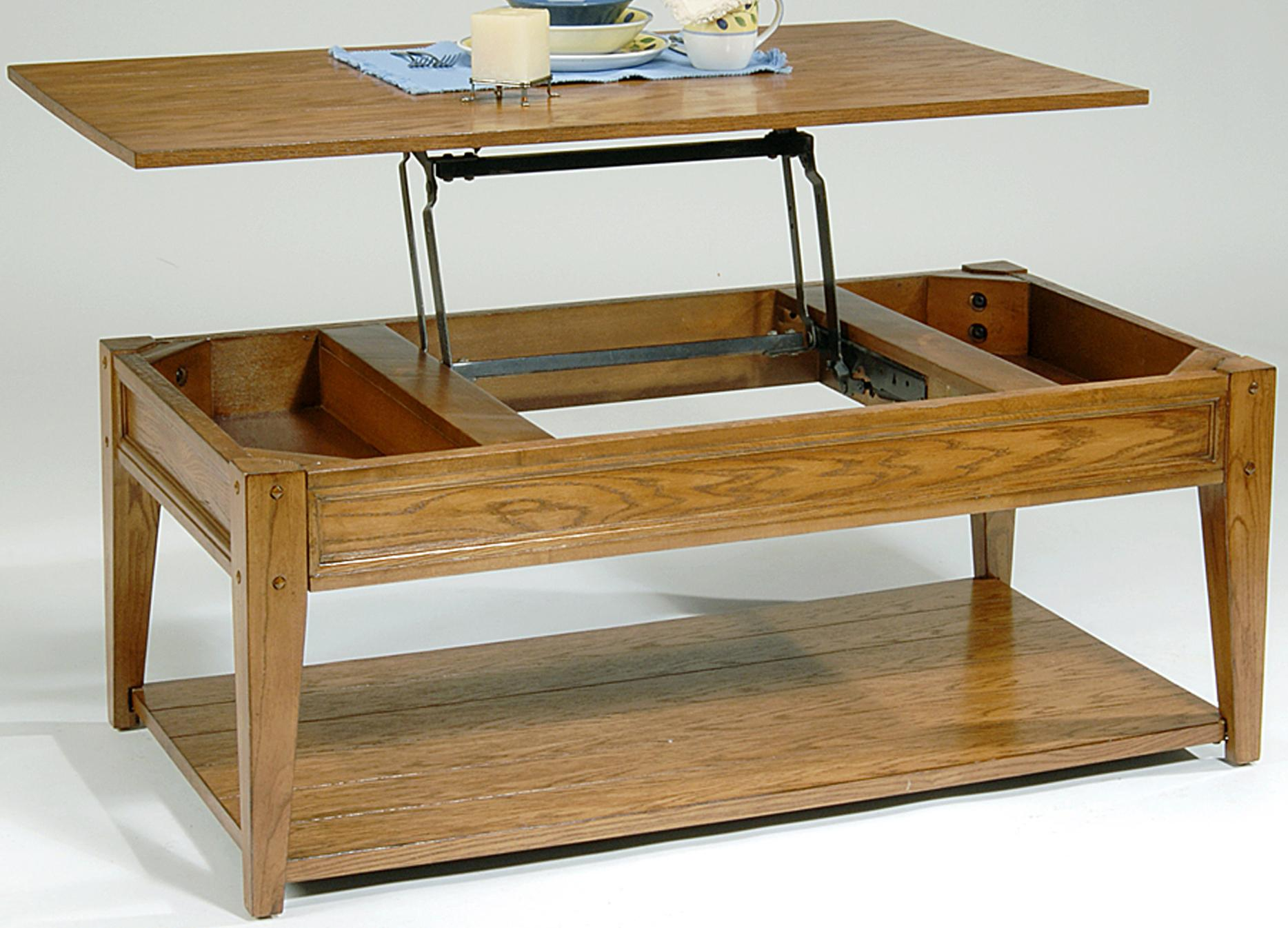Liberty Furniture Lake House Lift Top Cocktail Table - Item Number: 110-OT1015
