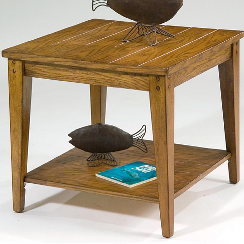 Liberty Furniture Lake House Square Lamp Table - Item Number: 110-OT1023