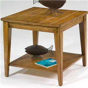 Liberty Furniture Lake House Square Lamp Table