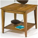 Vendor 5349 Lake House Square Lamp Table - Item Number: 110-OT1023