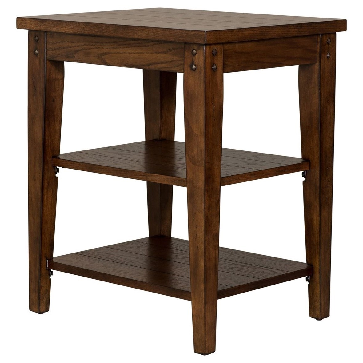 Laney CT Tiered Table by Libby at Walker's Furniture