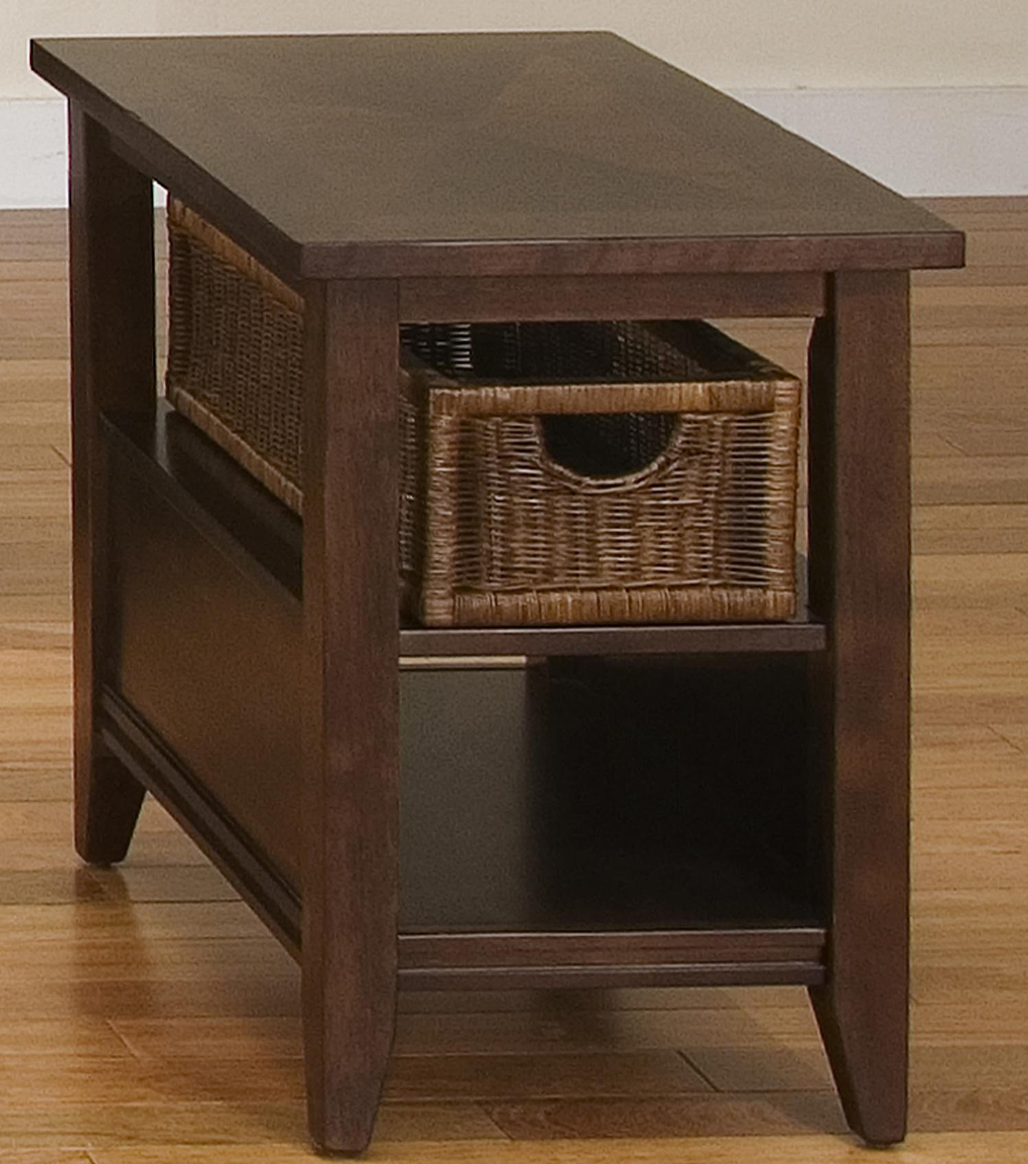 Liberty Furniture Lakewood Basket End Table - Item Number: 481-OT1021