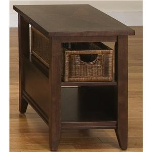 Liberty Furniture Lakewood Basket End Table